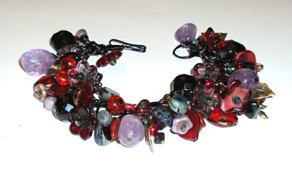 Wire jewellery ArtLinks – Lava bracelet