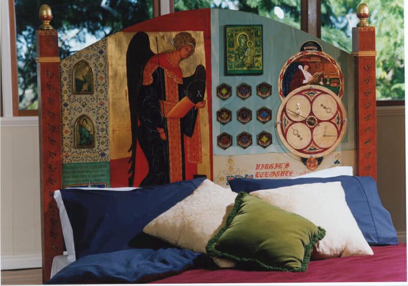 Medieval Bedhead