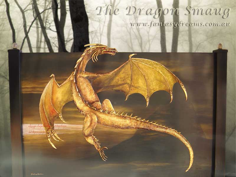 Bedhead – Smaug the Dragon