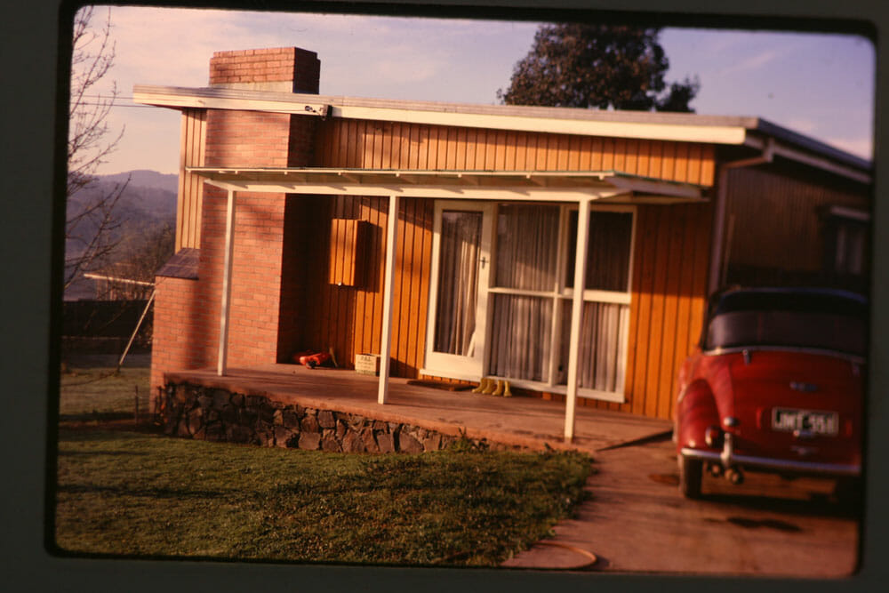 A little more history of our Mid-century home