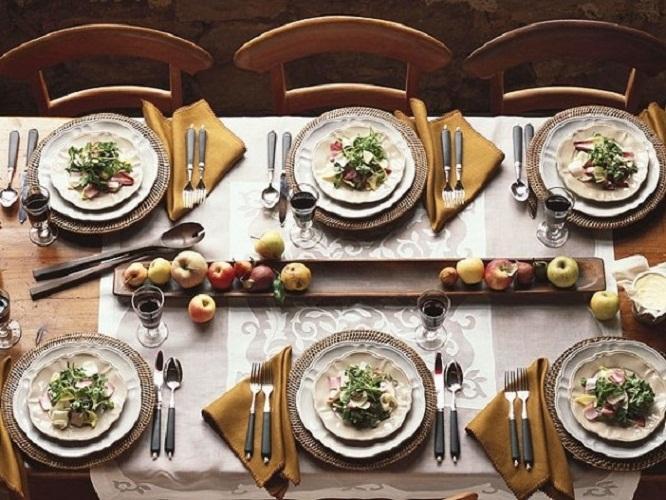 Autumn Entertaining Dinner Table Setting Ideas