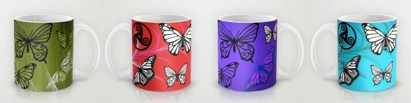Butterfly Dreams - coffee mugs