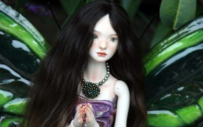 Talarah, my new porcelain ball joint doll