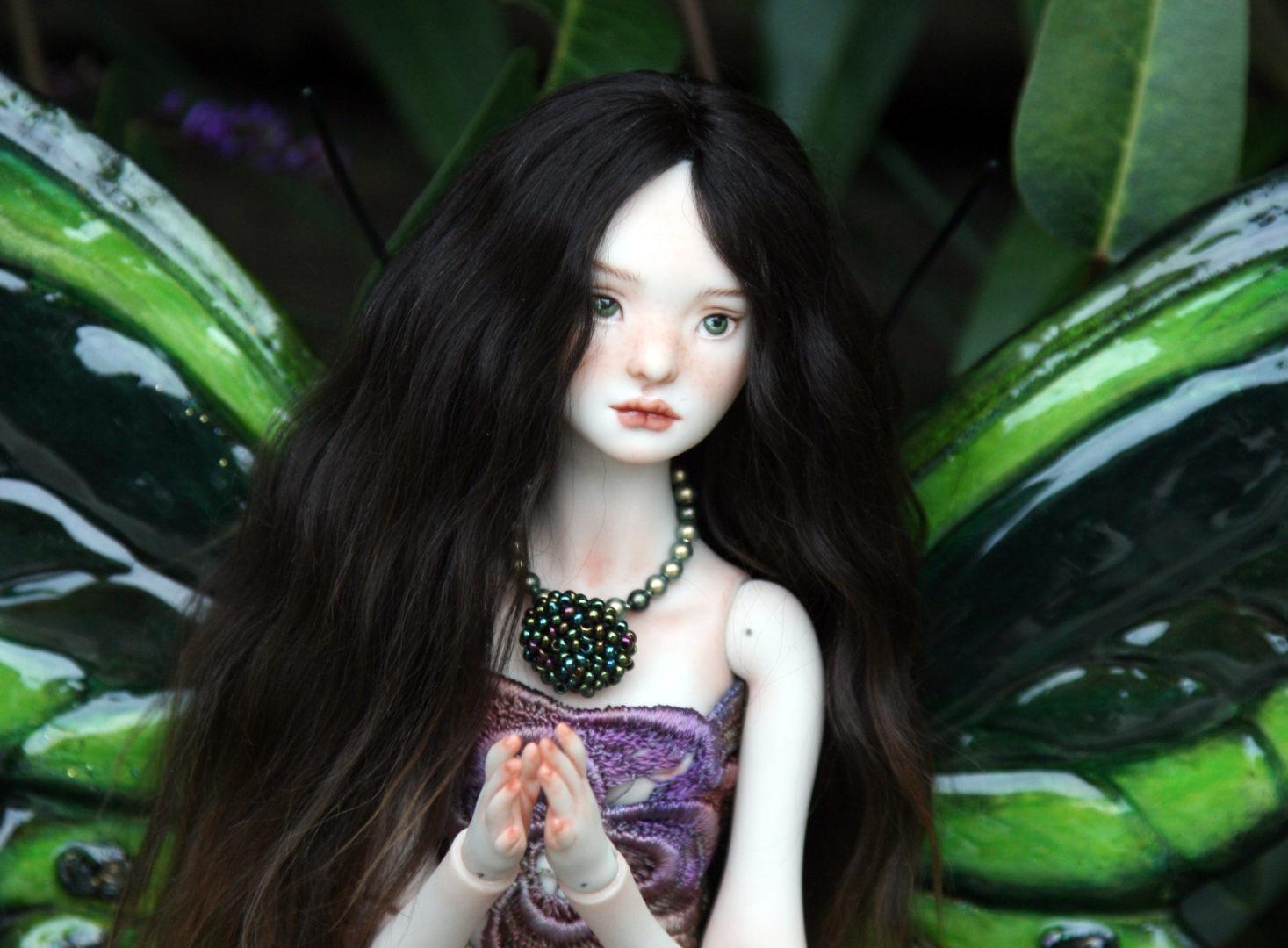 Talarah, my new porcelain ball joint doll