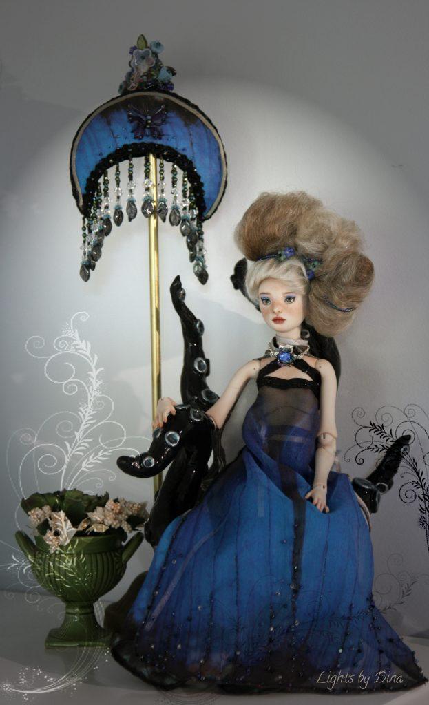 Talarah in Blue