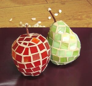 red mosaicfruit