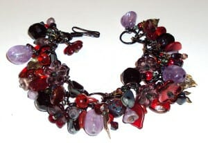 ArTlinks red_lava bracelet by Dina